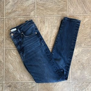 Denim Forum Nico Mid Rise Skinny Crop